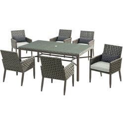 Tropical Outdoor Dining Sets by Almo Fulfillment Services