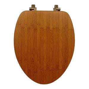 Astounding Bemis 19601Cp 888 Natural Reflections Wood Elongated Toilet Customarchery Wood Chair Design Ideas Customarcherynet