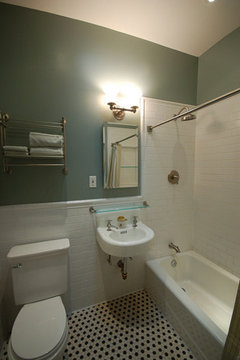 Finished Marble Parlor Bathroom