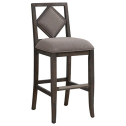 Transitional Bar Stools And Counter Stools by American Woodcrafters