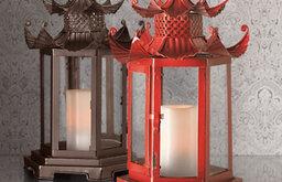 Pagoda Candle Lanterns