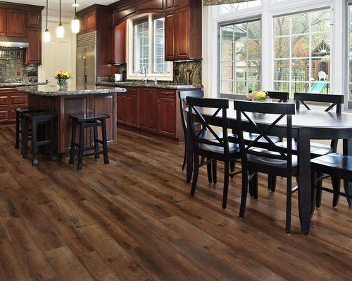 Water Resistant Laminate Flooring maple wood color suqared edges single click waterproof laminate flooring Aquaguard Water Resistant Laminate