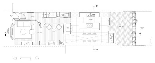 Modern Floor Plan by REES Architects