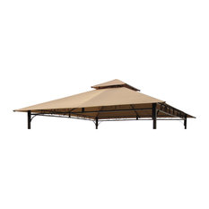 St. Kitts Replacement Canopy For 10' Canopy Gazebo -Khaki