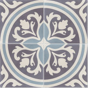 Mia Handcrafted Cement Tile, Sample