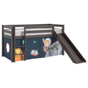 Pino Mid Sleeper Combination Set, Space, Slide