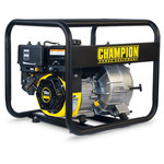 Champion Power Equipment - Champion 3-Inch Gas-Powered Semi-Trash Water Transfer Pump - The Champion Power Equipment 66525 3-inch Semi-Trash Gas-Powered Water Transfer Pump is a powerhouse when it comes to pumping. Capable of passing solid waste up to _-inch in diameter, this transfer pump is the perfect solution for moving water quickly and efficiently.