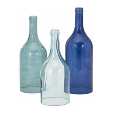 Monteith Blue Cloche Bottles 96400-3