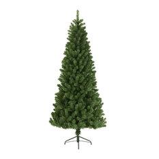 Slim Newfoundland Pine  Artificial Christmas Tree, 210cm