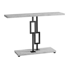 48 in. Accent Table in Gray and Black Finish