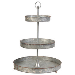 Farmhouse Dessert And Cake Stands by A&B Home