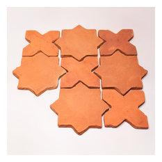 Terracotta tile 6''x6'', Set of 28 tiles