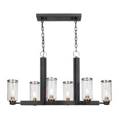 Uttermost Jarsdel 6 Light Industrial Island Light 21333