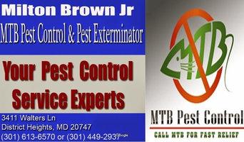MTB Pest Control