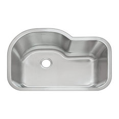 DiMonte Single Large Curved Sink M-320, M-320 Single Large Curved Sink