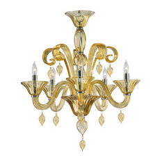 Cyan Design 6493-5-14 Treviso 5 Light Chandelier