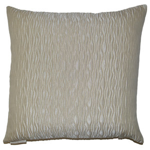 The Pillow Collection Saloua Typography Bedding Sham Reed Natural King//20 x 36