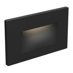 DALS Recessed Horizontal Step Light, Black