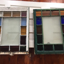 Front Hall Stained Glass window restoration