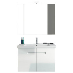 Lovely Modern Bathroom Vanities And Sink Consoles by TheBathOutlet