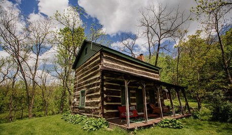 A First-Time Mom Finds Life Remade in the Family Cabin