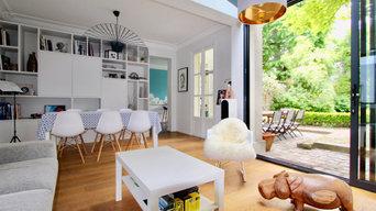Rénovation et extension d'une maison - 150m2