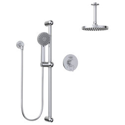 Contemporary Showerheads And Body Sprays by Keeney