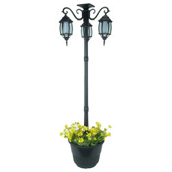 Traditional Post Lights by Home Garden Collections