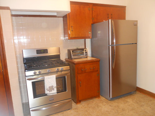 Need help with 1950\'s kitchen....
