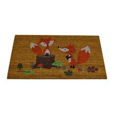 Gardman Fox Design Coir Doormat