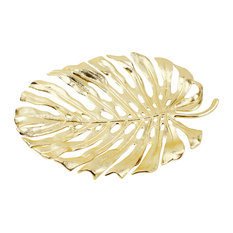 Monstera Leaf Platters, Medium