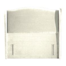 Ariel Standard Headboard, Plush Ivory, Super King 193 cm