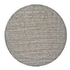 Weave & Wander Celano Rug, Light Gray, 10' Round