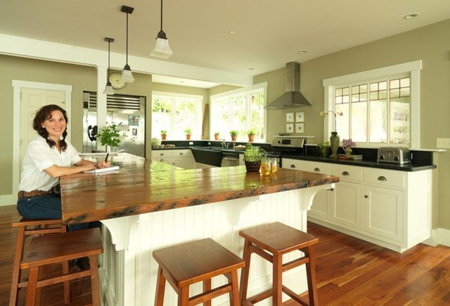 Eclectic Kitchen by Joanne Palmisano Design