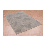 Cosmos 09 Crest Natural Rectangle Modern Rug 120x170cm