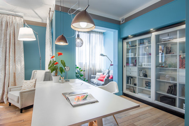 Kleur Corridor Appartement : Houzz tour appartement met een cirkelvormige gang foto s