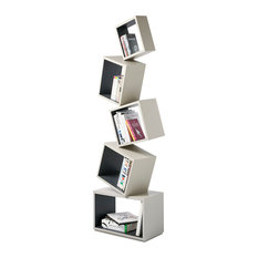 Equilibrium Bookcase - Modern Light Collection, Coal