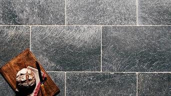 Romana Bluestone Marble Tiles   Kitchen Tiling Ideas