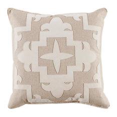 Sultana Applique Fleece Velvet Pillow