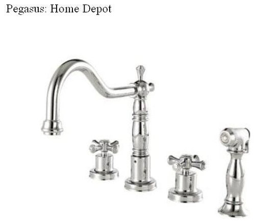 Identical faucets from 2 companies? Anyone know the difference?