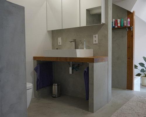 beton cire bad fugenlose gestaltung. Black Bedroom Furniture Sets. Home Design Ideas