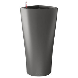 Delta Self Watering Planter, 40x75 CM, Charcoal