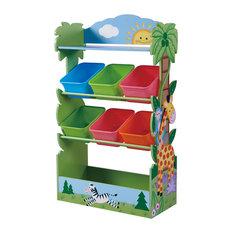 Fantasy Fields Children Sunny Safari Wooden Toy Storage