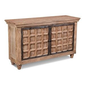 Keystone Panel 2-Door Sofa Table Storage Cabinet