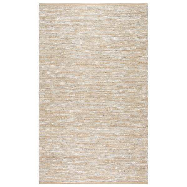 Nuloom Hand Woven Tarver Rug, Silver, 7'6