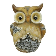 Garden Owl Statue Garden Statues and Yard Art Houzz