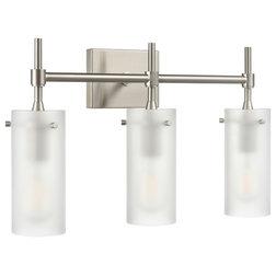 Transitional Bathroom Vanity Lighting by Linea di Liara