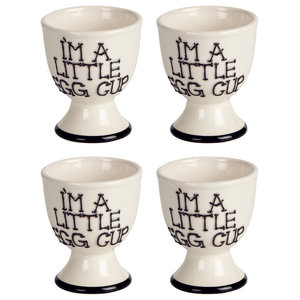 Fairmont and Main I'm a Little Egg Cup, Set of 4