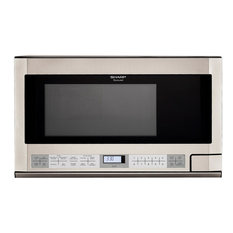 SHARP - Over the Counter Microwave, Stainless Steel - Microwave Ovens