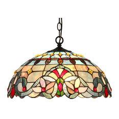 Grenville 2-Light Victorian Ceiling Pendant Fixture